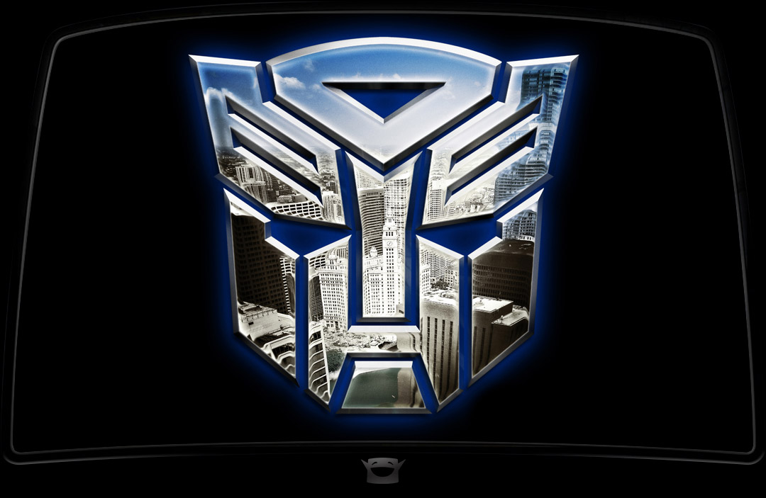 TF3 Autobot Logo - downtown Chicago